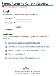 Parent-Portal-login