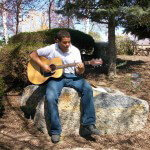 Residential relaxing guitar time