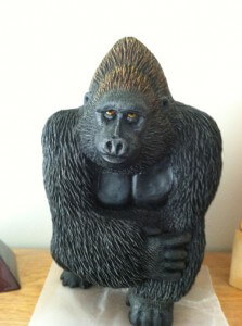 Hand-Carved-Gorrilla